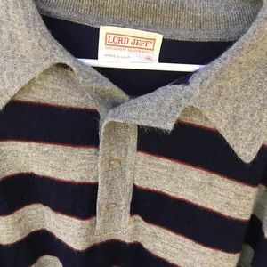 Lord Jeff Sweaters - Vintage Cozy Striped Grandpa Sweater | Lord Jeff